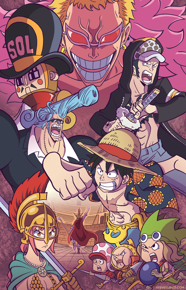 One Piece in Spain by TheSteveYurko