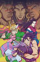 Joey Jojo and the Tenacious Battlers by TheSteveYurko
