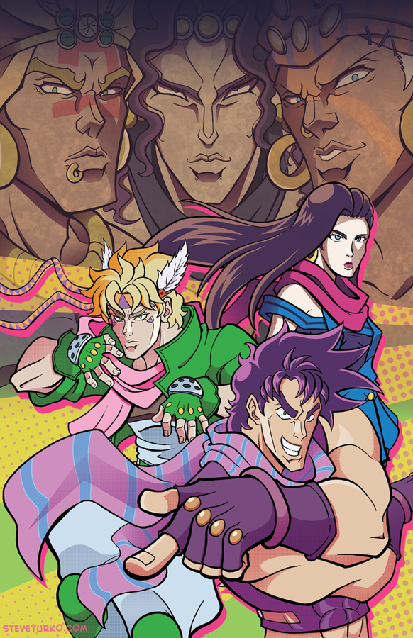 Joey Jojo and the Tenacious Battlers by TheSteveYurko