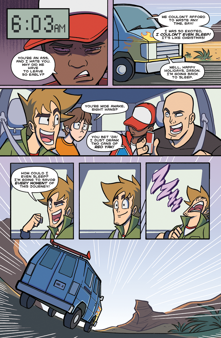 Jason and the Princes of the Universe Page 17 by TheSteveYurko