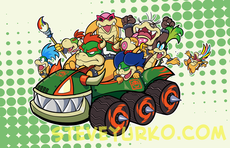 The Koopa Kar by TheSteveYurko