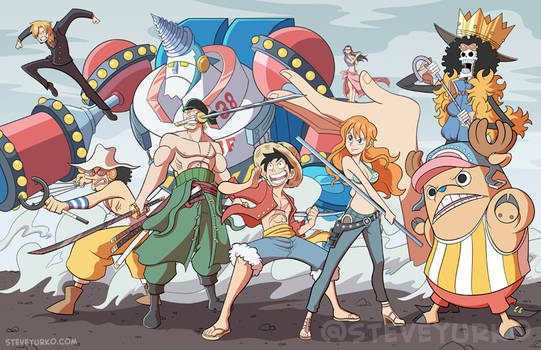 Pirates Affiliated with a Straw Hat