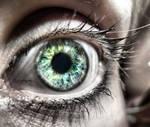 colourful eye