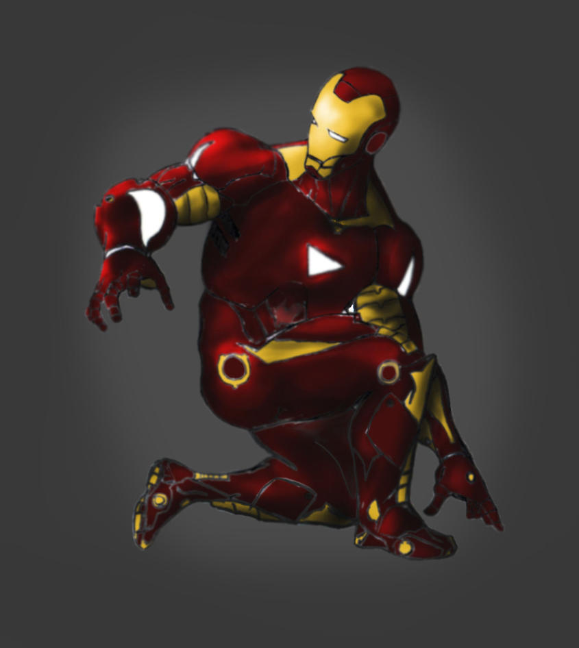 iron man 2 by 4544454321