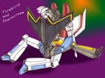 Starscream and Firebird 2