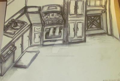 kitchen gesture by ladyenchantress