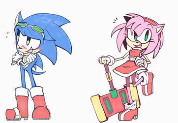 Roleswap: Sonic and Amy