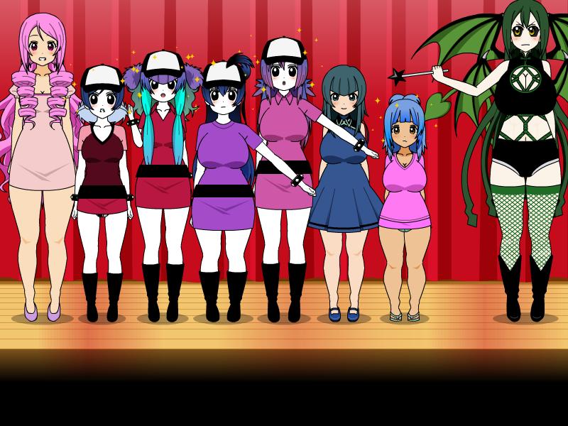 The New pizzawinners 6 (7 girls to Pizzawinners) by jaybirdking85