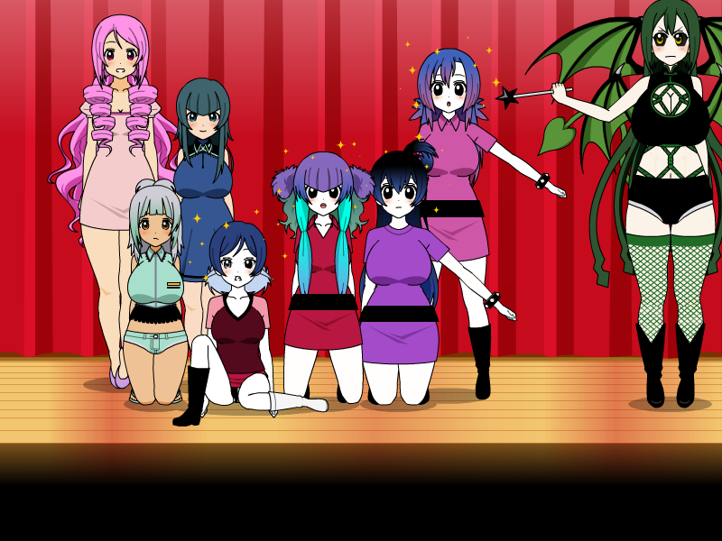 The New pizzawinners 5 (7 girls to Pizzawinners) by jaybirdking85