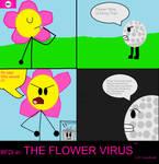 The Flower Virus pg 1 by jaybirdking85