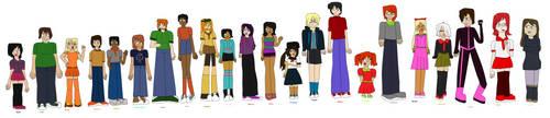 BFDI TF Saga ARC 1 Official Cast by jaybirdking85