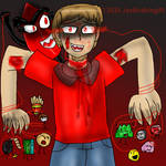 Edward Lewis (ARC 2) Possessed by Evil Leafy by jaybirdking85