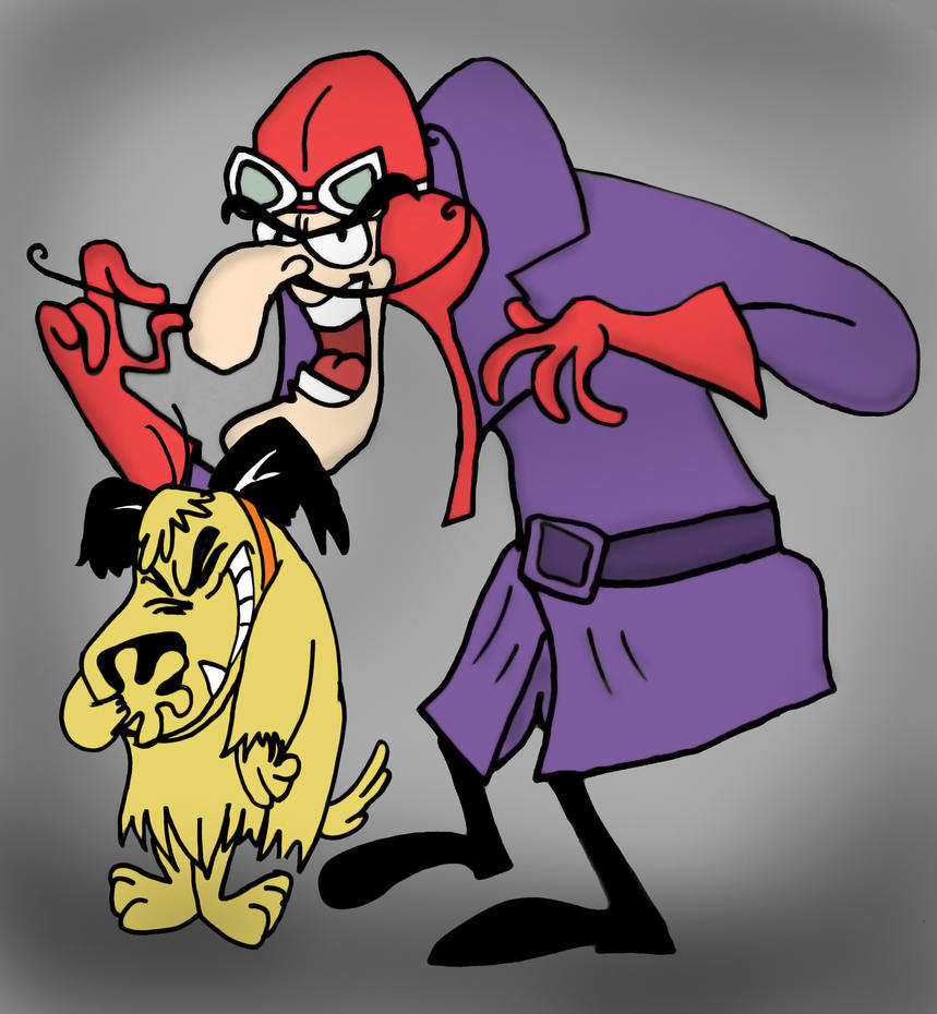 Dastardly and muttley by whiteboardguy on deviantart