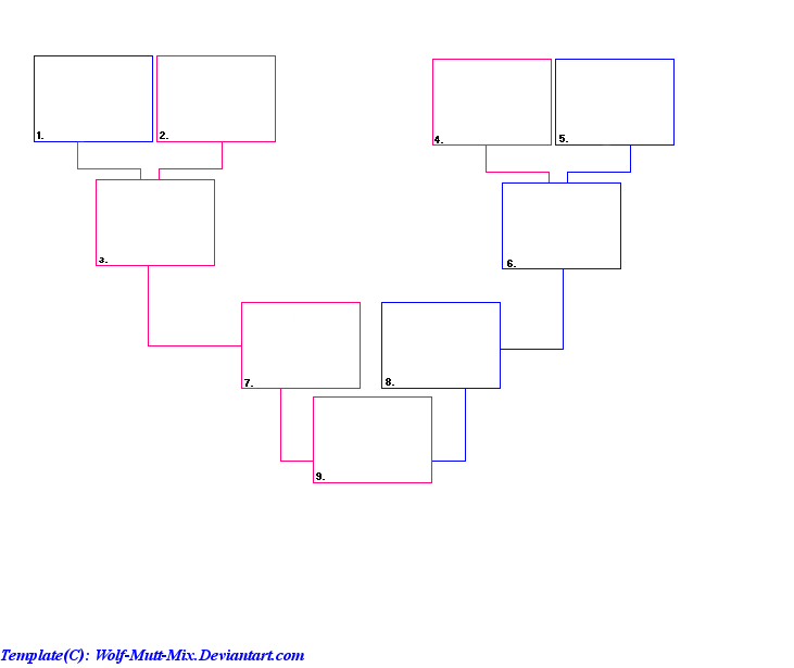 plain family tree template - family tree template by wolf mutt mix on deviantart