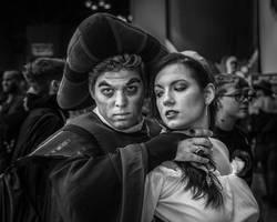 Frollo And Esmeralda by BautistaNY