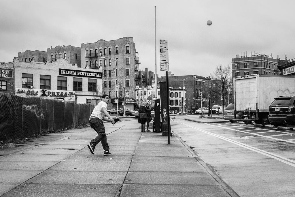 Street Baseball by BautistaNY