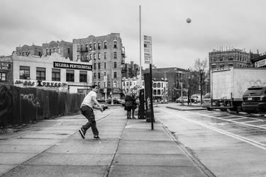 Street Baseball by BautistaNY