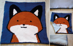 StupidFox Baby Blanket by WollMia