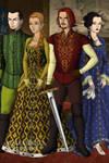 Tudor Hogwarts Founders
