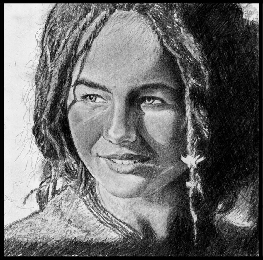 Camilla Belle As Violetta In 10,000 BC Movie By VyanRH On