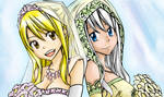Lucy and Mirajane