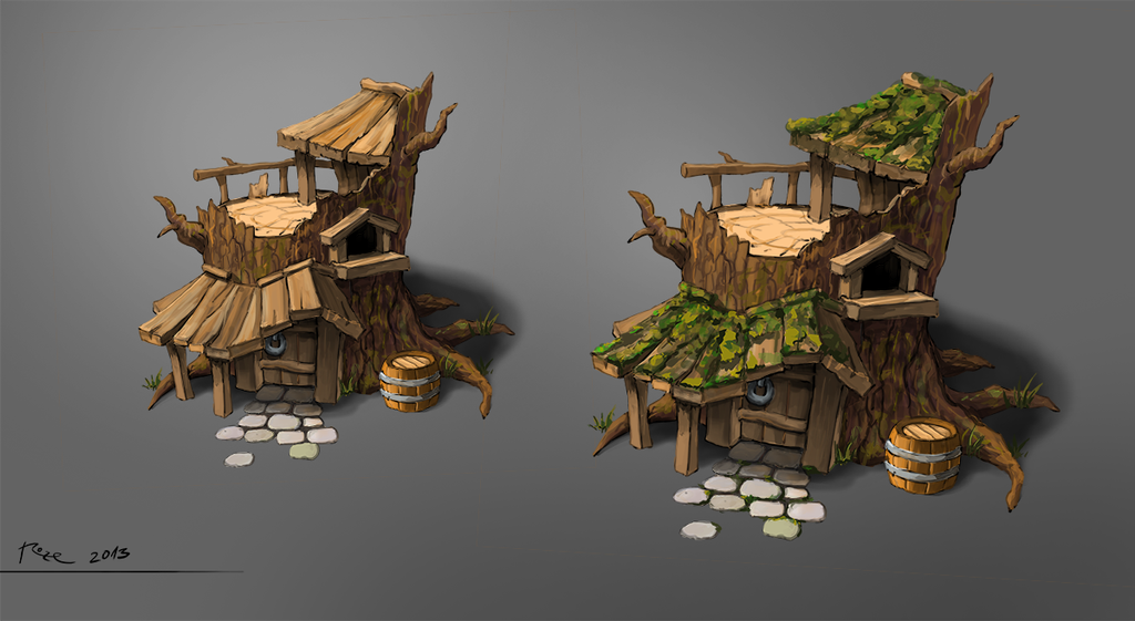 TreeHouse concept by psykolin