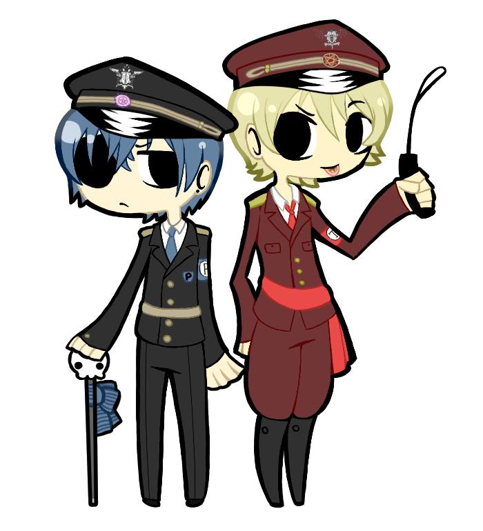 Alois and Ciel by Black-Jenny