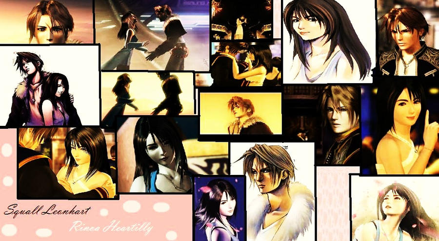 Squall And Rinoa Wallpaper Squall And Rinoa Wallpaper by