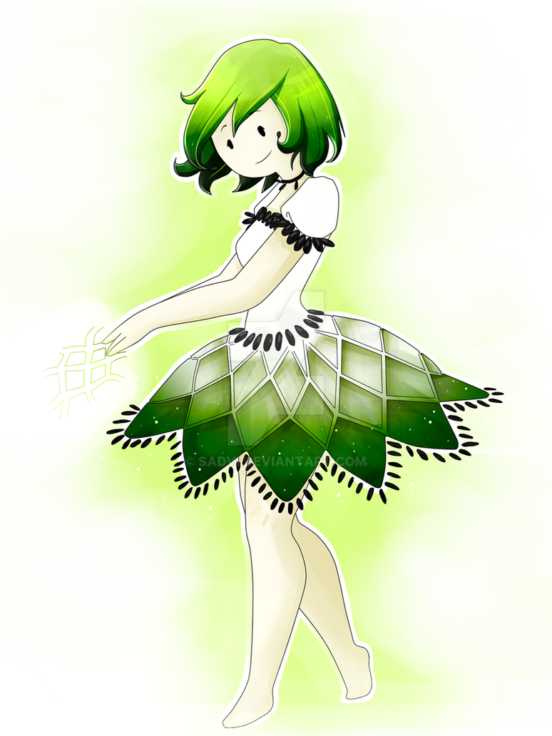 Custard Apple Princess by sadvi on DeviantArt