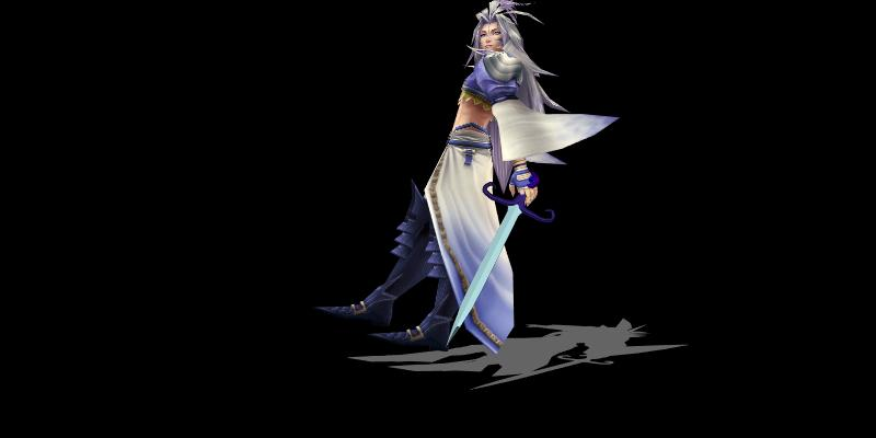 Kuja with Sword by Sephikuji
