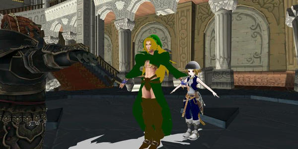 Final Fantasy 9 Cosplay The Legend of Zelda 3 by Sephikuji