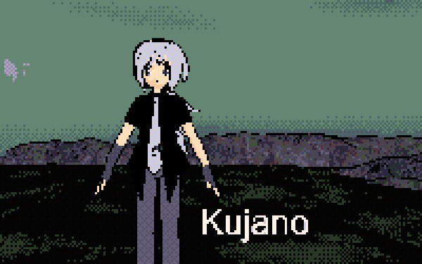 Kujano pixel with tie by Sephikuji