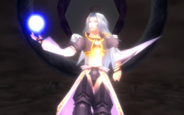 Kuja use Holy Magic mmd by Sephikuji