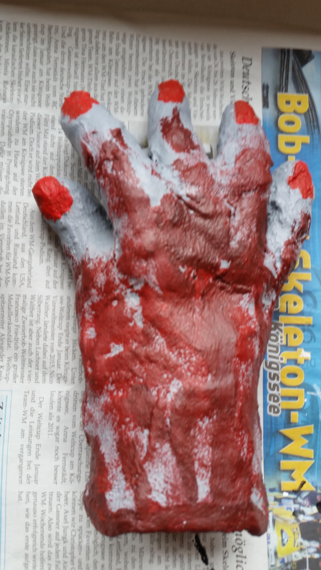 Bloody Hand wip by Sephikuji