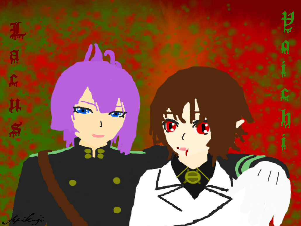 ONS  role change Lacus Welt and Yoichi Saotome by Sephikuji