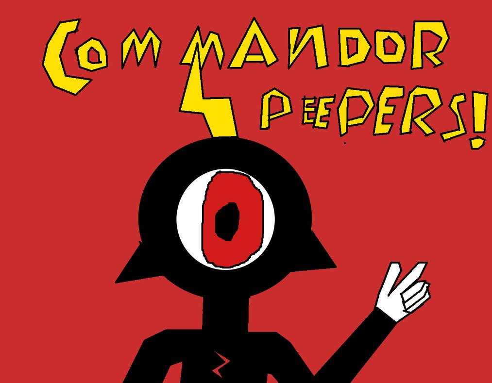 Commander Peepers! (Wander over Yonder) by Sephikuji
