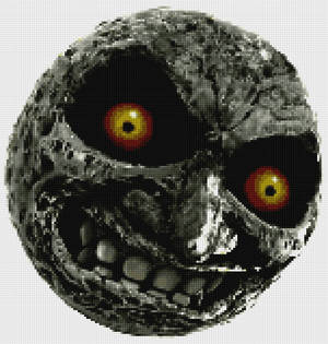 Majoras Moon from Legend of Zelda Majoras Mask