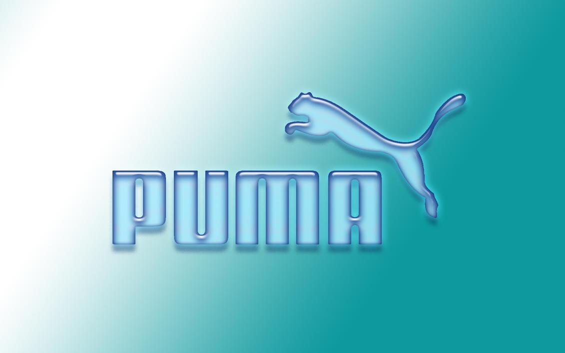 Puma Logo Baby Blue by blackpandinus on DeviantArt: blackpandinus.deviantart.com/art/Puma-Logo-Baby-Blue-78002279