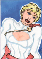 Powergirl sketchcard by The-Standard