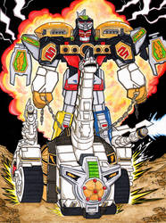 Ultra Megazord by The-Standard