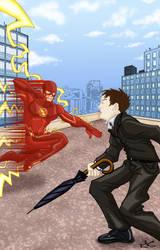 Flash vs. Penquin