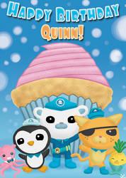 Octonauts Birthday Card
