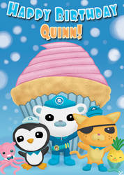 Octonauts Birthday Card