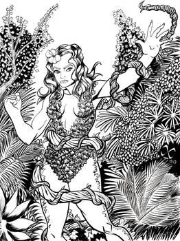 Poison Ivy sketch