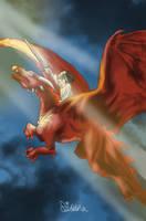 Dragon hunter by Diddha