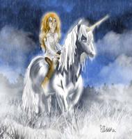 Vanhi and the unicorn by Diddha