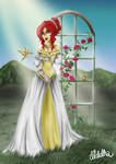 Nailah, an original character from DESTINS LIES.. by Diddha
