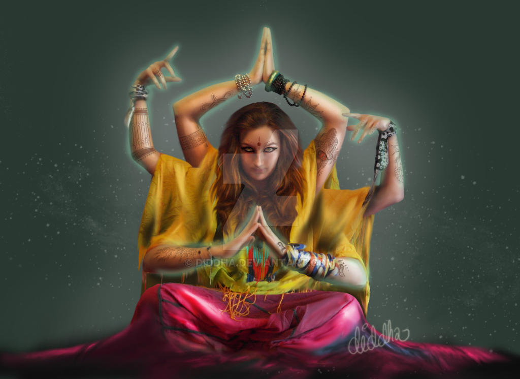 In Buddha style by Diddha
