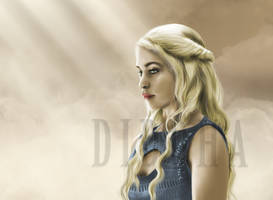 Daenerys (Game of Thrones) by Diddha