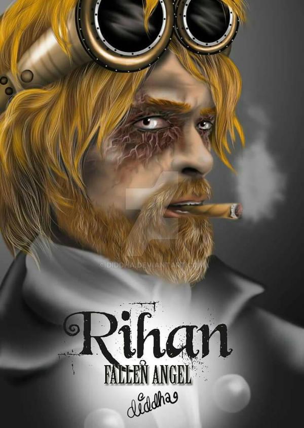 rihan, fallen Angel by Diddha